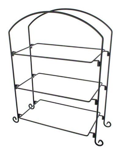 American Metalcraft IS13 Wrought Iron 3-Tier Ironwork Rectangular Plate and Basket Stand, Large, Black American Metalcraft,http://www.amazon.com/dp/B0030ZUFIY/ref=cm_sw_r_pi_dp_yee1sb1QEC9K1SBP