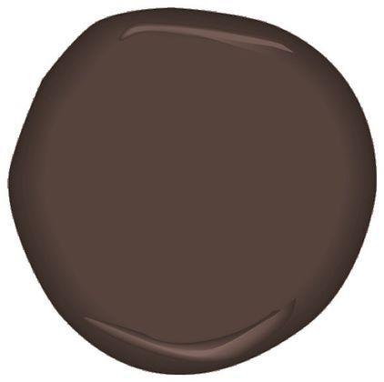 Espresso Bark CSP-390 Paint Benjamin Moore - brown with lots of gray