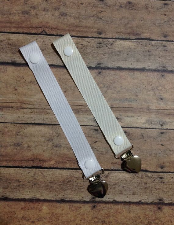 ivory white soothie strap, mam pacifier, binky holder, nuk pacifier clip, gumdrop mam avent, dummy clip, adjustable paci clip, binky leash