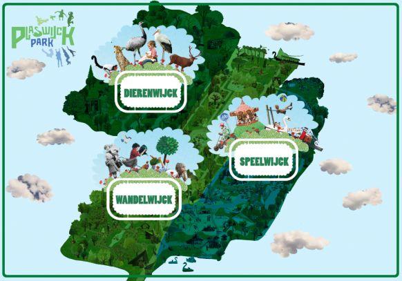 Familiepark en attractiepark Rotterdam - speeltuinen en dierentuin - Plaswijckpark