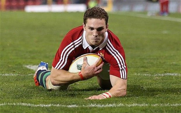 Key man: George North has been a crucial player for the Lions so far and would be a huge loss for the first Test