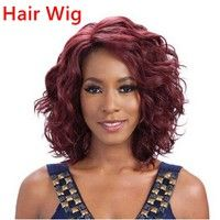 Total Length :48cm Weight :210g Color:Wine red Feature : The simulation of the scalp and Hair  is ea