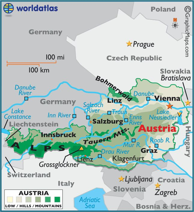 Best Austria Eu Ideas On Pinterest Austria Destinations - Vienna austria on world map