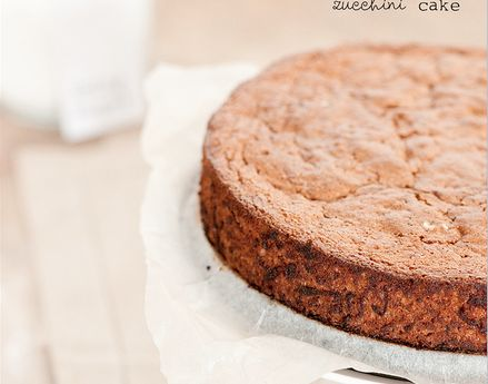 Zucchini Cake 1 1/2 cups almond flour, or gluten free flour of your choice 1/2 cup chopped walnuts 1/2 teaspoon baking powder 1 teaspoon bicarbonate of soda 1/4 teaspoon sea salt 1 teaspoon ground cinnamon 1/2 teaspoon grated nutmeg 3/4 teaspoon granulated stevia 2 eggs, beaten 3 tablespoons grapeseed oil 4 tablespoons coconut milk 1 1/2 cups grated zucchini