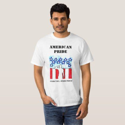 Men's Graphic T-shirts American Pride STAND - trendy gifts cool gift ideas customize