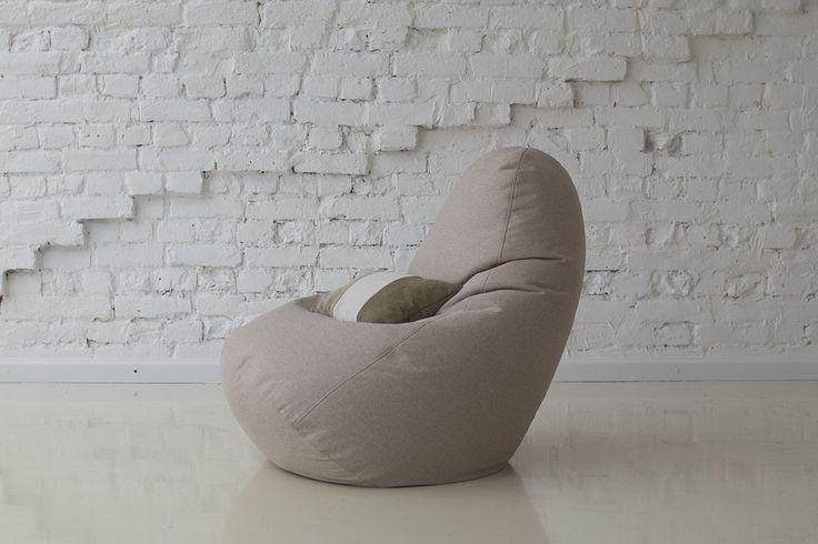 Кресло-мешок Сальвадор бежевый