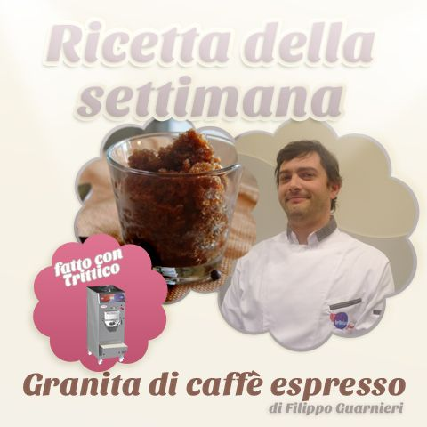 The recipe of the week: #espresso #coffee #GRANITA by #FilippoGuarnieri, to made with #Trittico https://www.facebook.com/BRAVOSPA/photos/a.218288168188180.66026.160418363975161/872490209434636/?type=1&theater