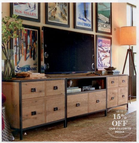 Pottery Barn Vintage Posters - Recreate for the break room with our company locations.