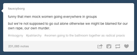 Powerful Tumblr Posts About Being A Woman