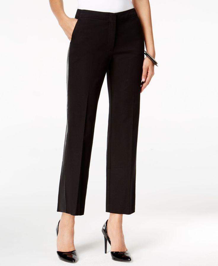 Womens leather pants petite 5