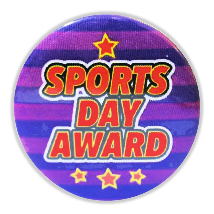 Everyone deserves to be rewarded for their Sports Day efforts and this Sport Day Award badge does the job perfectly. Each badge measures 25mm and there are 20 identical badges per pack.
