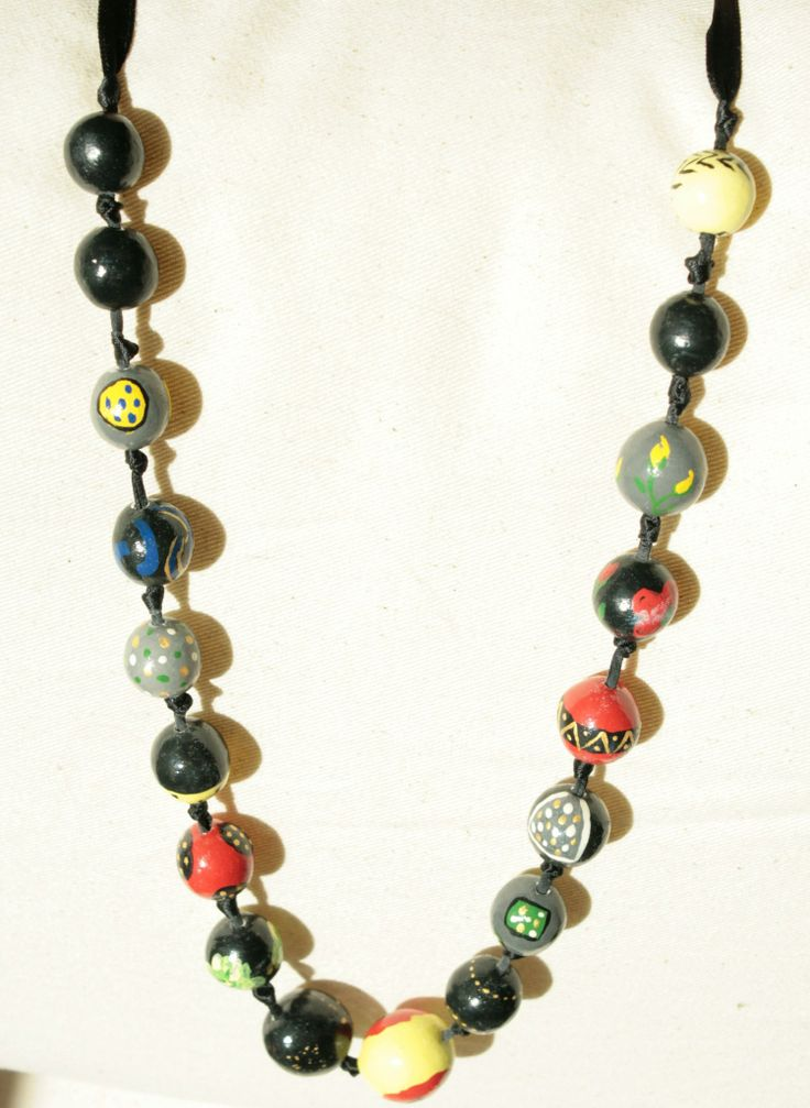 SymSym#clay beads#margele lut poppie#rose#dots