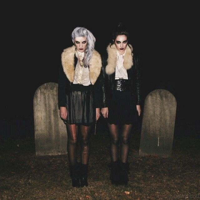 Cemetery photoshoots are cliché but beautiful