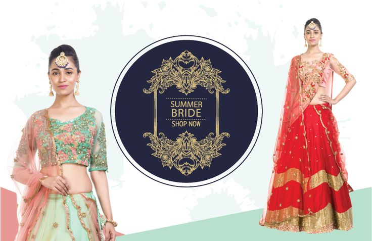 wear the most amazing bridal lehengas this season!!