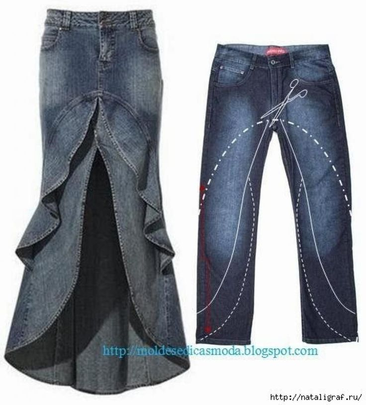 28 Façons créatives de récupérer des vieux jeans, pour leur donner une seconde vie! - Trucs et Bricolages