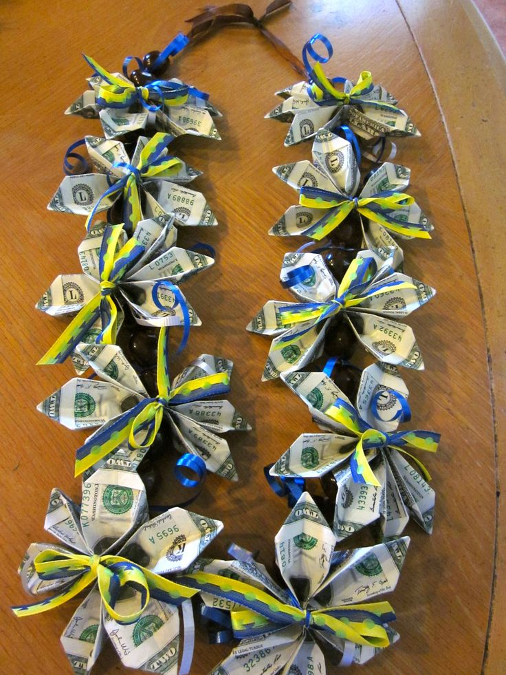 102 best diy leis images on pinterest money lei candy for How contractors make money