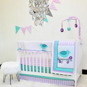 Pam Grace Paisley Crib Bedding