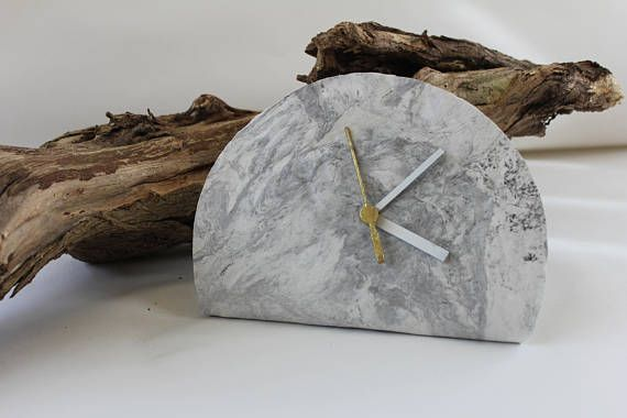 Check out this item in my Etsy shop https://www.etsy.com/listing/525282678/modern-clock-decor-desk-clock-minimalist