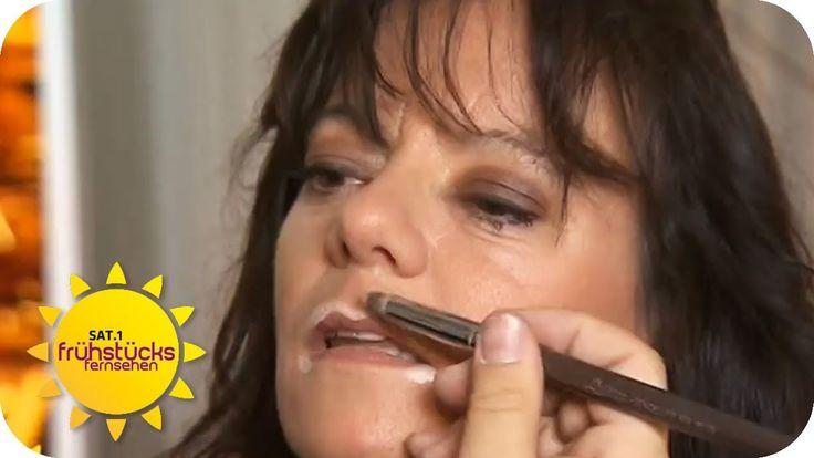 Volle Lippen schminken - Styling-Tipps vom Profi | Sat.1 Frühstücksferns...