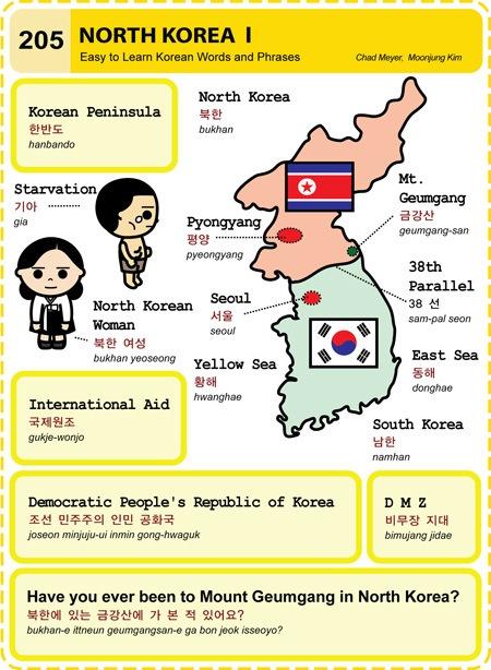 205 Learn Korean Hangul North Korea 1