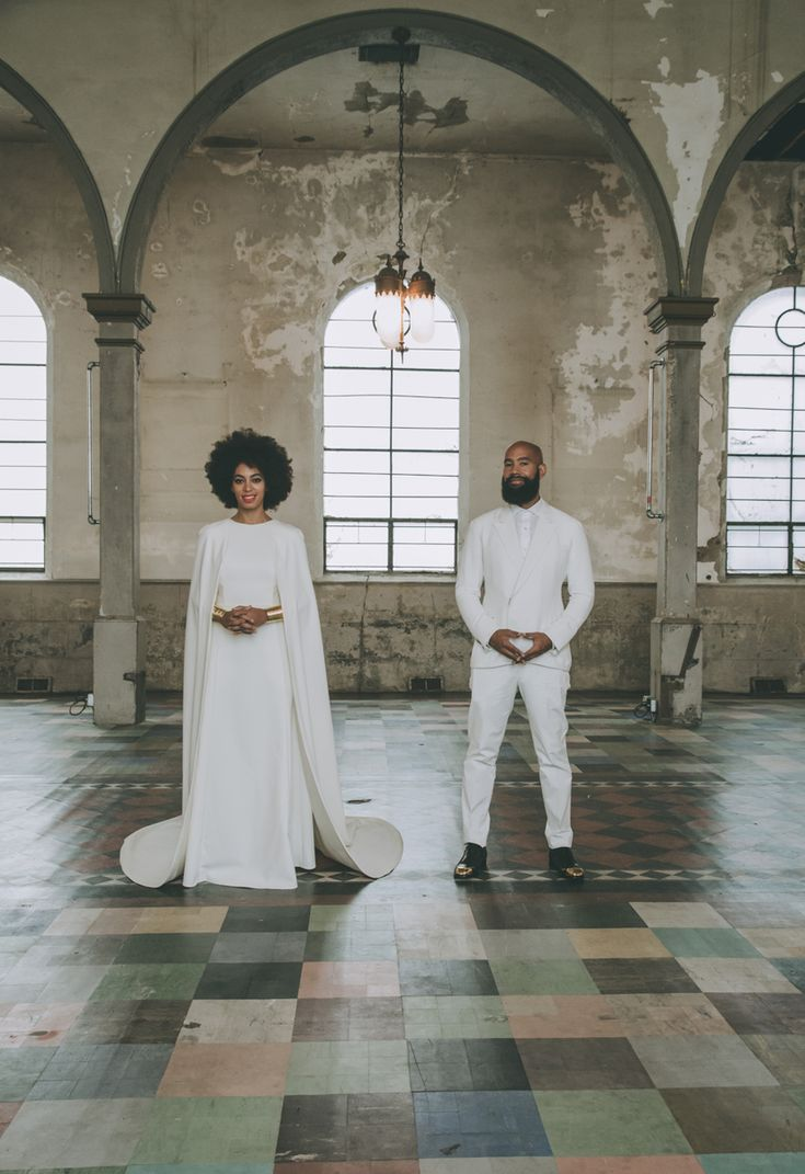 Solange Knowles's Wedding Dress and Portrait by Photographer Rog Walker Revealed - Vogue