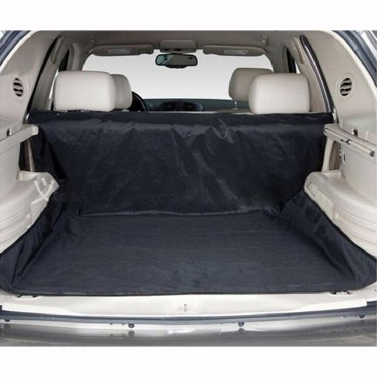 New Design! Dual-use Waterproof Oxford Dog Auto Car Trunk Mat / Back Seat Cover Pet Hammock Mats With 4 Straps Black 150x120cm //Price: $34.25      #FirstDayOfSummer