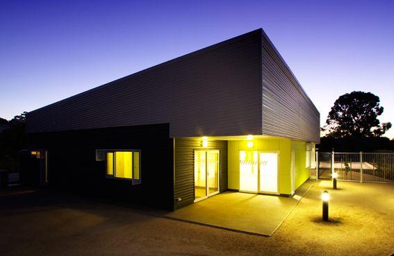Architecture, Design, Modern, Commercial, Ambulance, Ambulance Station, Ambulance Victoria, Grey, Kyabram, Colorbond