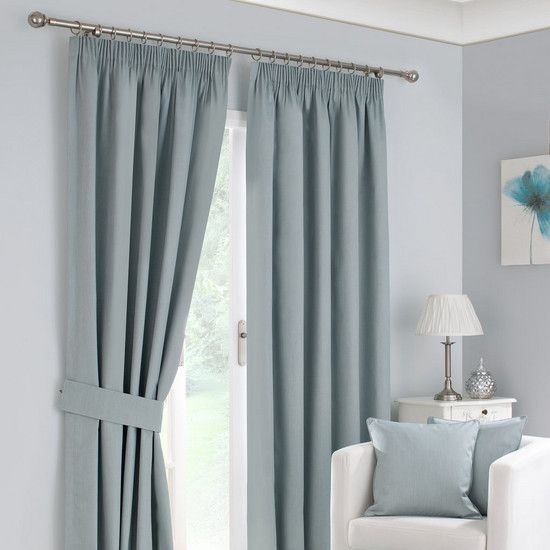 bedroom blackout curtains dunelm waters and noble duck egg solar blackout pencil 10290