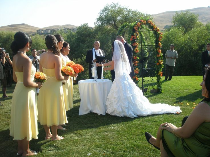 American Canyon Country Club Traditional Spanish Wedding Ceremony By Padre Tomas Burgos Of WwwJohn316weddings