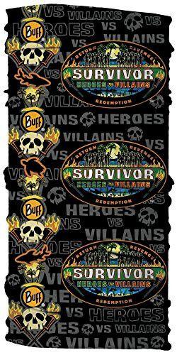 CBS Survivor Season 20 Heroes vs Villians Black Merged Buff-Ying Yang Tribe