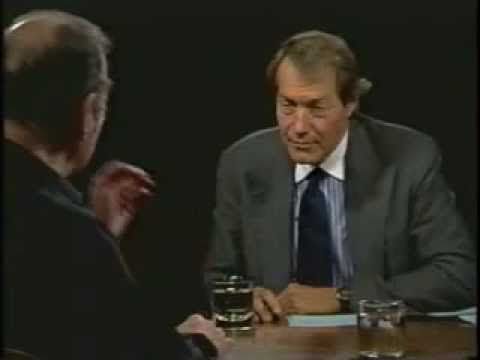 Harold Pinter on the Charlie Rose Show: July 19th 2001 (Part One) - YouTube