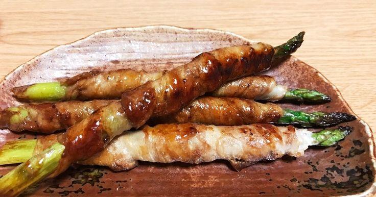 簡単副菜 アスパラ豚肉巻き by おみずきっちん [クックパッド] 簡単おいしいみんなのレシピが273万品