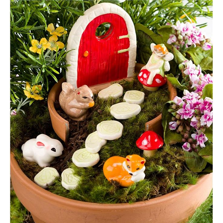Fairy Garden Set   Childrens Gardening