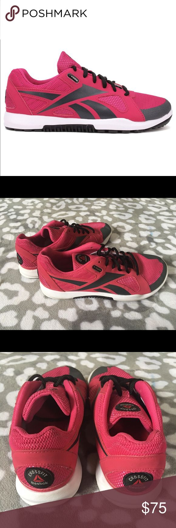 Reebok CrossFit Nano Cross Training Shoes 8.5 I bought these for $120 and only wore them once. They are great for weight training. EUC. Like new! Reebok CrossFit Shoes Athletic Shoes