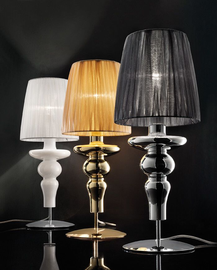 "Gadora Chic 19.7"" H Table Lamp with Empire Shade"