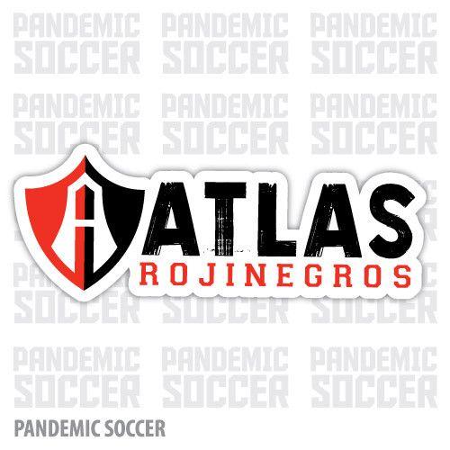 Atlas Guadalajara Mexico Vinyl Sticker Decal Calcomania