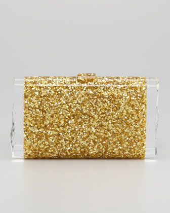17.  YES!  ...and I am thrilled to select the Edie Parker Lara Confetti Clutch Bag, Gold, Neiman Marcus.  (My Neiman Marcus Personal Shopper Nate agrees!) #PintoWin #NapoleonPerdis #Cinderella