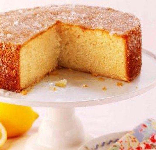 Elderflower & Lemon drizzle cake | belvoir fruit farms