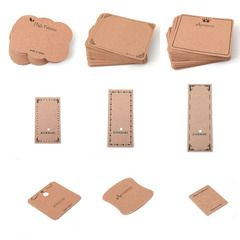 Упаковка 100 комплектов серьги (даже пластиковые пакеты карты карточный стад браслет ожерелье броши шпилька головной убор