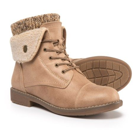 Cliffs by White Mountain Duena Hiking Boots (For Women) in Natural