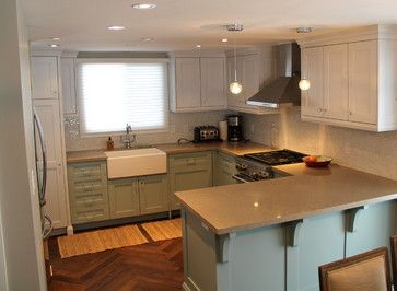 Wasaga Beach Cottage Kitchen - beach-style - Kitchen - Toronto - Absolute Cabinets Inc