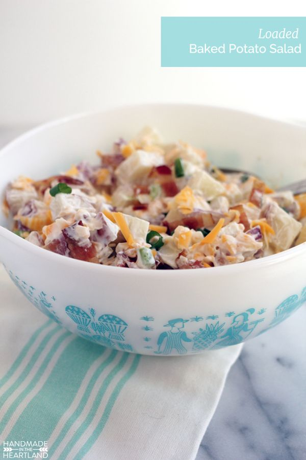 loaded baked potato salad loaded baked potato salad potato salad ...