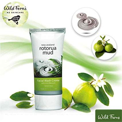 Wild Ferns Rotoura Mud Face wash with Lime Blossom