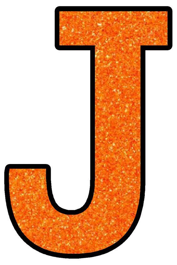 Buchstabe - Letter J   Symbols, Stickers, Color
