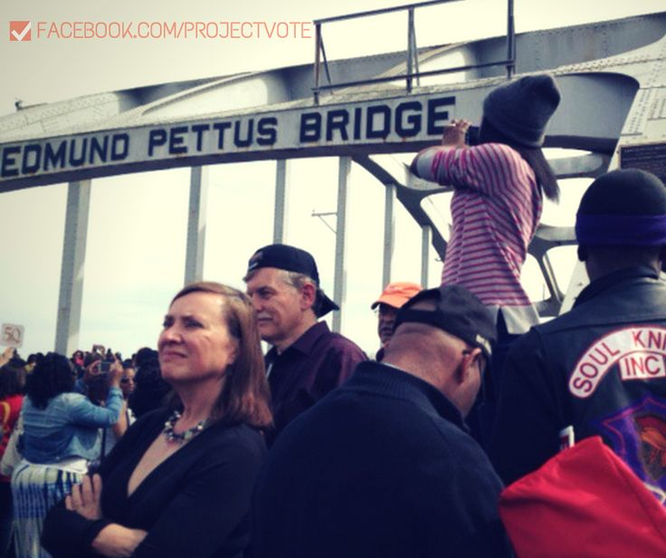"""Estelle Rogers writes about """"The View from the Bridge."""" #VotingRights #Selma50"""