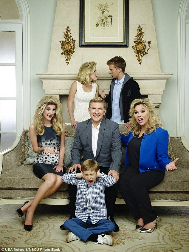 Now you don't: Kyle Chrisley will not appear on Season 2 of the hit reality show with Lindsie, Savannah, Todd, Grayson, Chase and Julie
