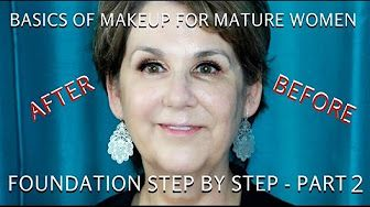 (732) How to do Makeup for Women Over 60 Part 1| Mature Eyes Tutorial - mathias4makeup - YouTube