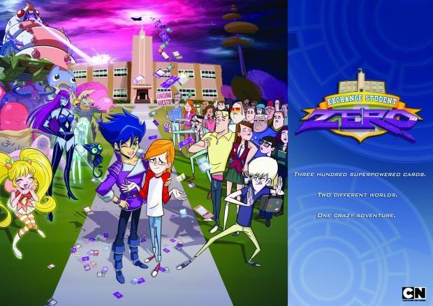 Exchange Student Zero - Cartoon Network's first Asia/Pacific Ocean-made Series
