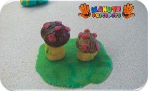 Ciuperci din plastelina