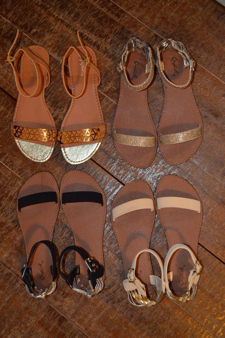 Sandals / flats for this summer! Black, nude and glitter! Dresses, skirts, shorts, playsuits, these babies go with everything! www.heelheaven.com.au